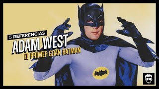 5 Referencias Animadas: Adam West | LA ZONA CERO
