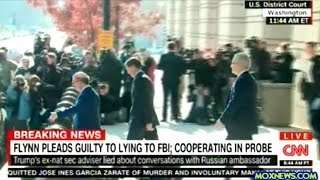 General Michael Flynn Leaves Federal Courthouse After Pleading Guilty To Lying To FBI