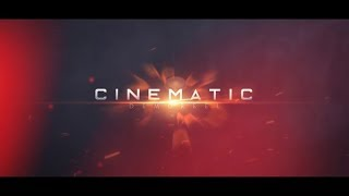 Cinematic Demo Reel | After Effects template