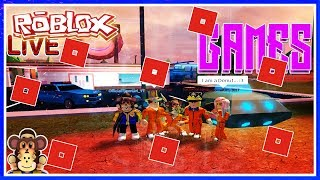 ROBLOX LIVE STREAM -LET'S PLAY GAMES AND MORE CHILL!#153
