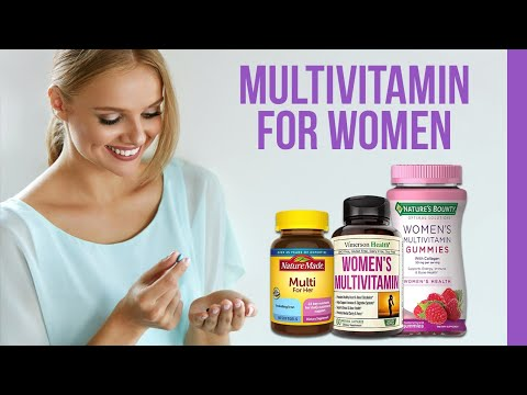 5 Best Multivitamins for Women | Vitamins You Need on Daily Basis