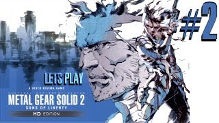 Metal Gear Solid: HD Collection - MGS2 Livestream - Xbox 360 - Part 2