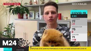 Люди благодарят врачей, которые лечат больных COVID-19 - Москва 24