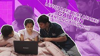 "[AXIOO INDONESIA] Indra Bekti: ""Anak-anakku Punya Laptop Baru yang Nggak Bikin Kantong Bolong Nih!!"""