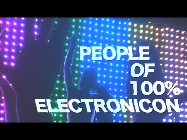 Interviewing fans Post 100% Electronicon (2019) - Great Stories