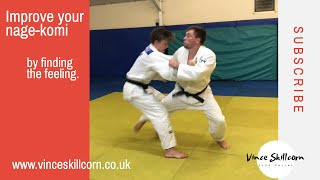 Judo Throw Tutorial - How to feel when to throw