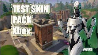 Test skin pack Xbox [Fortnite Battle Royale FRl]