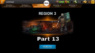 Left to Survive: PvP Zombie Shooter- Region 3-MIGDAL 1998-Part 13-Gameplay Walkthrough(Android-iOS)