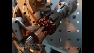 Станок для автоматической намотки якорей(Станок для автоматической намотки якорей СНЯ-1.2. Намотка провода 0355 мм двигателем 12 Вт, намотка провода..., 2012-04-20T07:43:51.000Z)