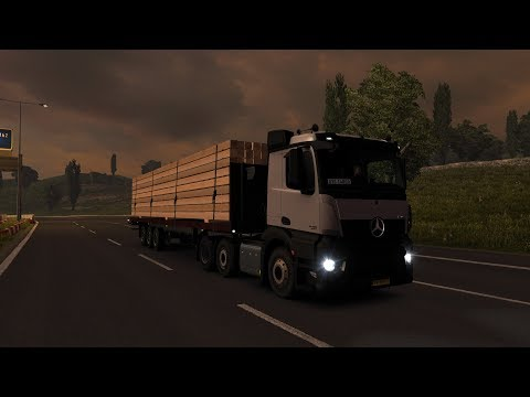 Euro Truck Simulator 2: Episode 376 Timber to Liverpool (GB)