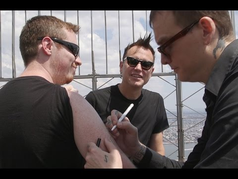 Would you let Blink-182 tattoo you?