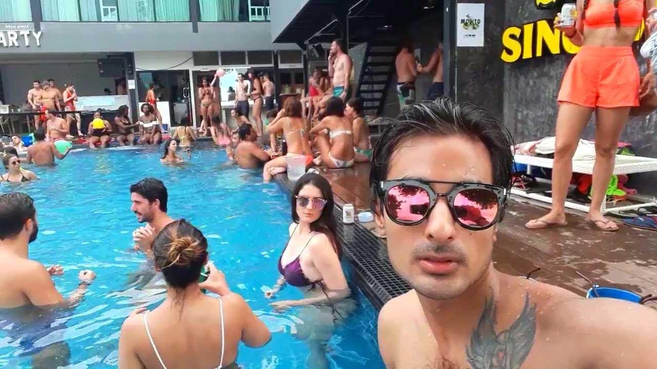 Ibiza pool party phi phi island / 2017 /dj mix 2018
