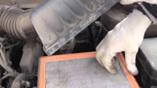 видео Устройство короба воздушного фильтра