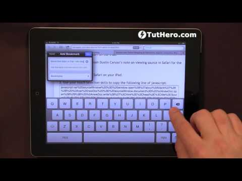 IPad Tutorial - How To