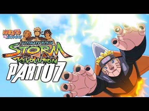 Naruto Shippuden: Ultimate Ninja Storm Revolution - Walkthrough Part 7, Gameplay Xbox 360