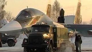 ВКС России получат 16 новых истребителей бомбардировщиков Су 34