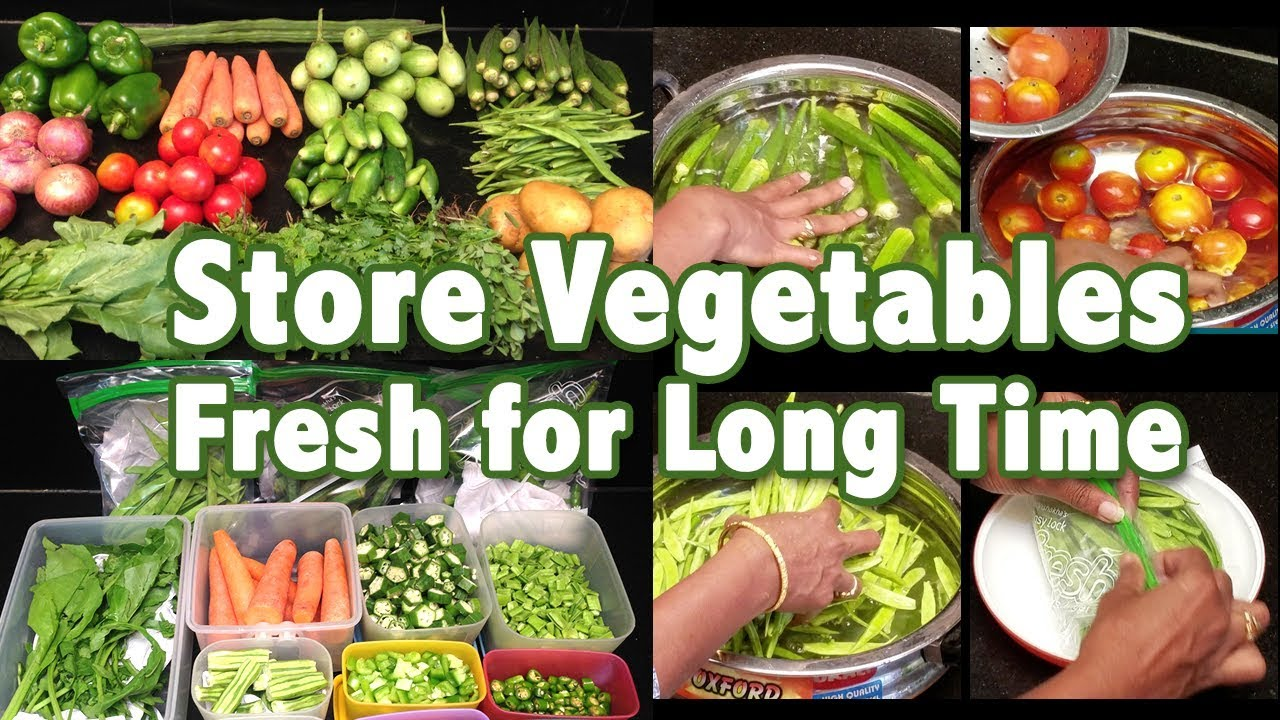 How To Store Vegetables In Fridge How To Keep Vegetables