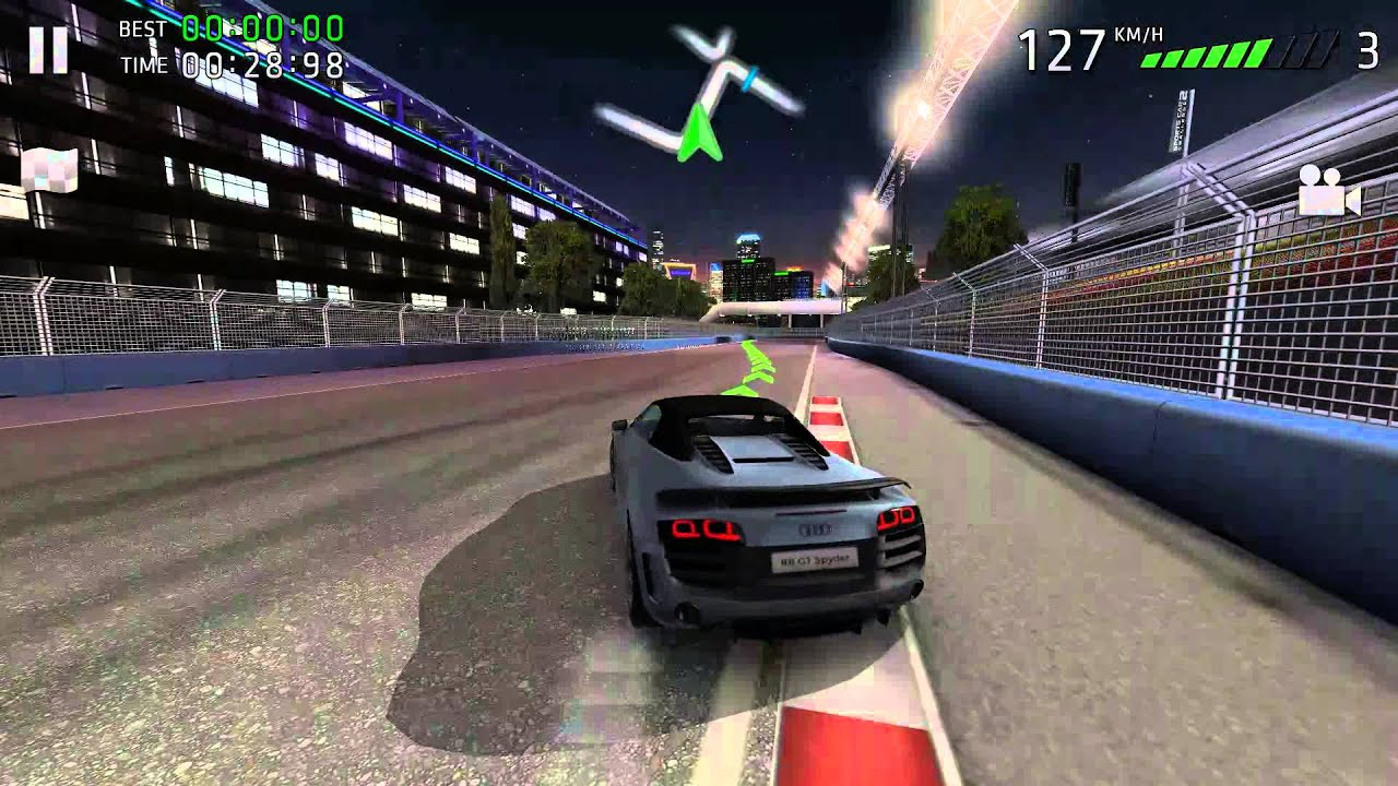 Attirant Sports Car Challenge 2 Audi R8 GT Spyder