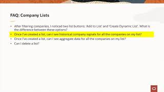 DataFox | FAQs: Use Static and Dynamic Lists video thumbnail