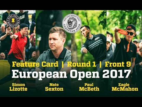 European Open 2017 Feature Card Round 1 Front 9