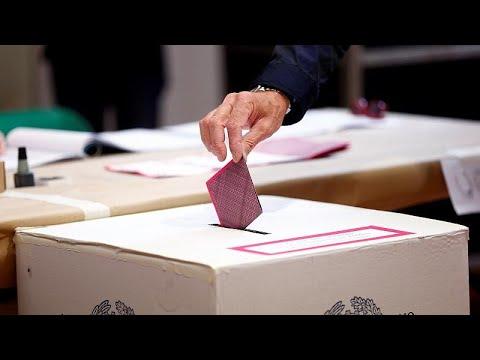 Europeus vão às urnas