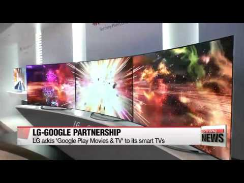 LG adds ′Google Play Movies & TV′ to its smart TVs   LG전자-구글 스마트TV 콘텐츠 위해 손잡았다