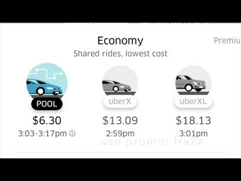 How to use the Uber Passenger App (Latest Version) 2018 Update