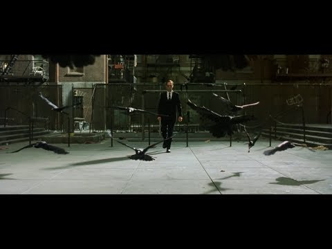 Neo meets Agent Smith - The Matrix Reloaded [1080p]