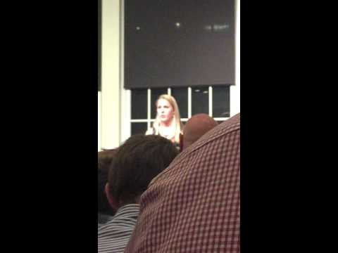 Julie's acceptance speech at the Morristown Beard Schools Athletic Hall of Fame induction ceremony.