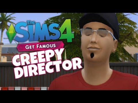 CREEPY DIRECTOR!!! #MySimToo - The Sims Get Famous #4 (Celebrity Path)