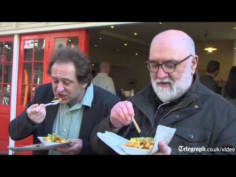 Matthew Norman and Alexei Sayle spend 36 hours in Hull