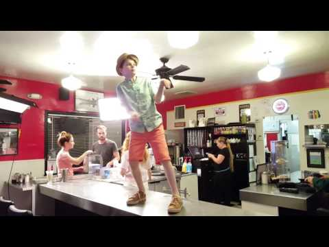 Counter Freestyle Dance at the Historic 101 Cafe - Mid Film Shoot!