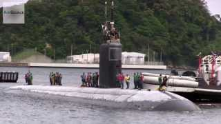 Los Angeles-Class Submarine USS Columbus Arrives in Yokosuka, Japan
