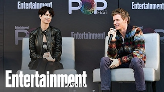 Fantastic Beasts: Redmayne & Waterston Compare Film To Harry Potter | PopFest | Entertainment Weekly