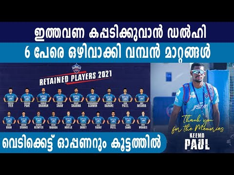 Delhi Capitals: Full List of Players Released And Retained | Oneindia Malayalam
