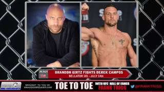 Frank Trigg pre-fight interview with Bellator 181's Brandon Girtz