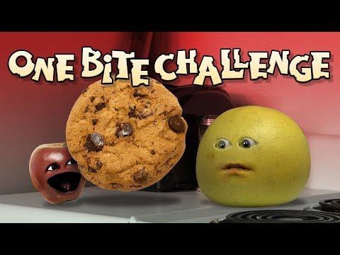Annoying Orange - ONE BITE CHALLENGE!