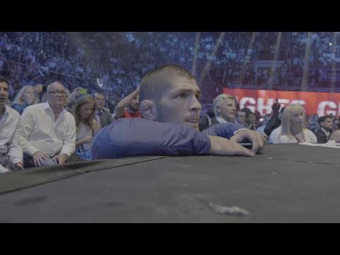 Хабиб Нурмагомедов в бою Емельяненко