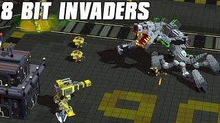 8-Bit Invaders - Cranioids Gameplay