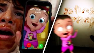 CALLING JOHNY JOHNY (YES PAPA) ON FACETIME!! *HE ATTACKED ME*