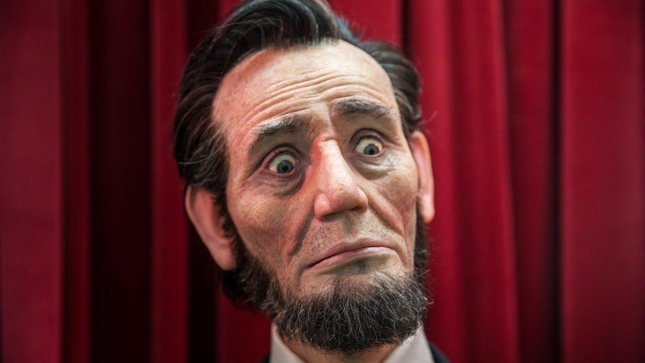Lifelike Animatronic Abraham Lincoln Youtube