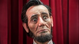 Lifelike Animatronic Abraham Lincoln!