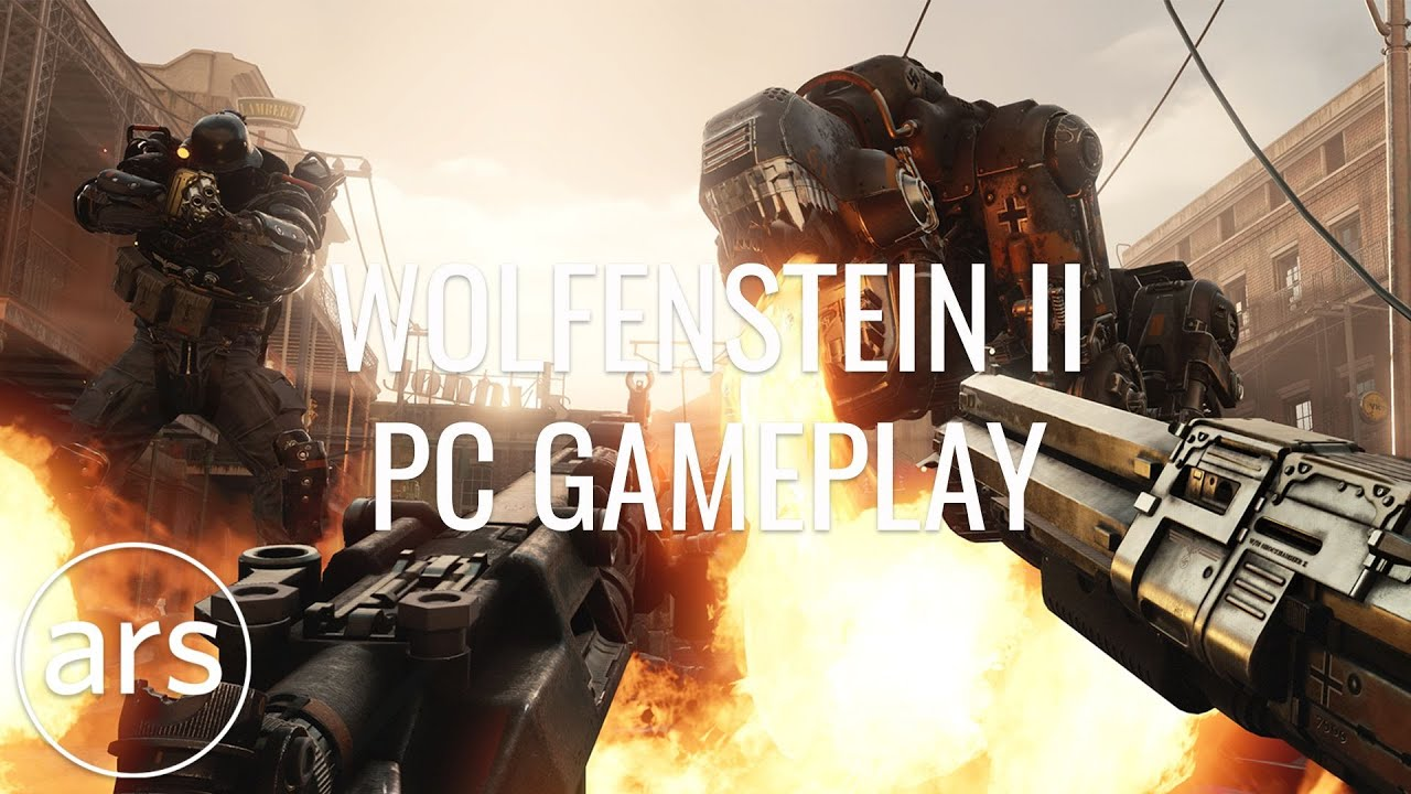 Wolfenstein II: The New Colossus—Like playing a B-movie with robot