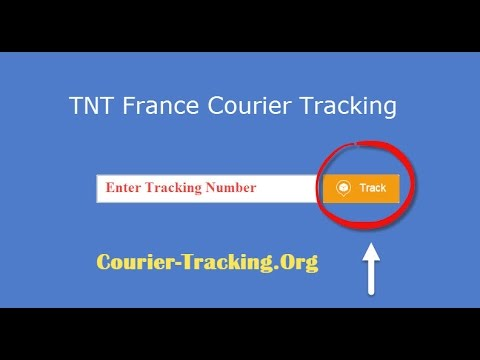 TNT France Courier Tracking Guide