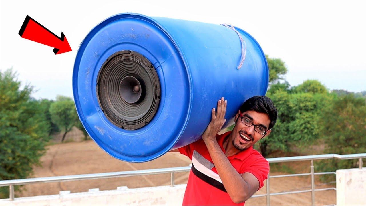 Making Largest (Un) Portable Bluetooth Speaker 😂