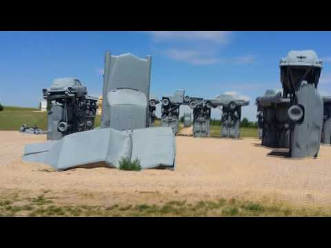 CARHENGE - The Stonehenge Replica - FULL VIDEO TOUR (Alliance, Nebraska)