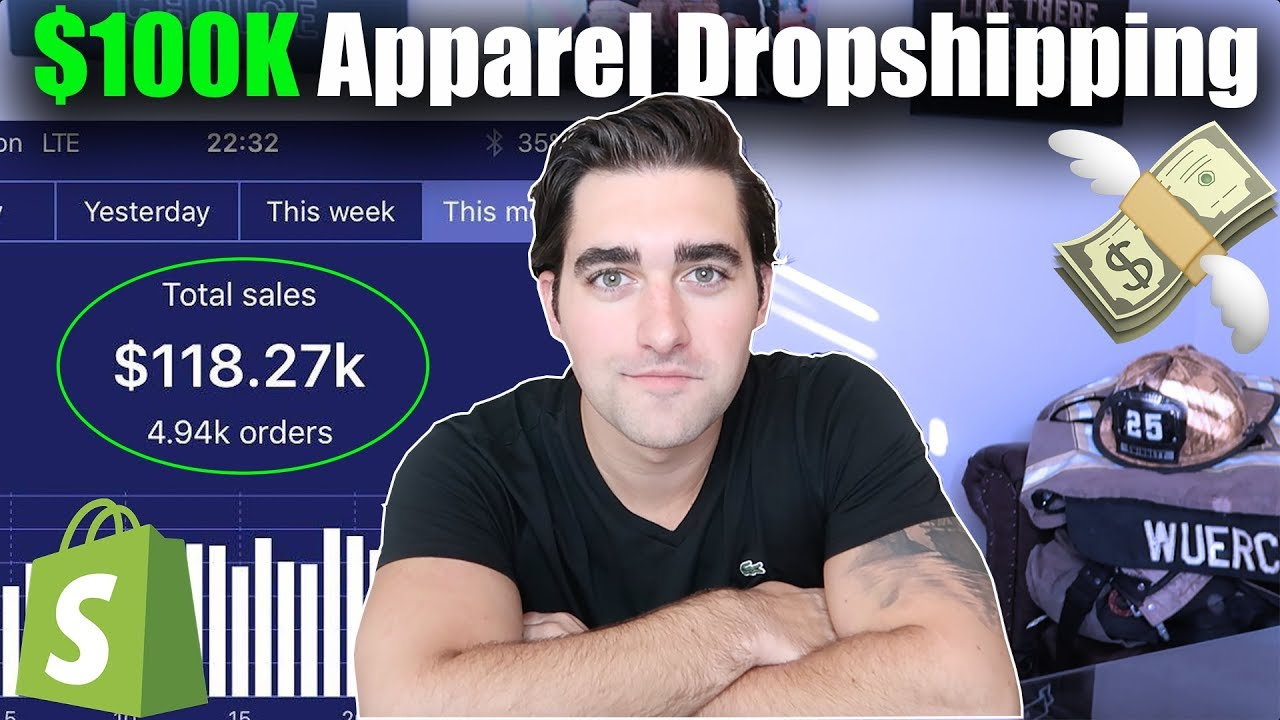 Make $100K Dropshipping Apparel With Shopify
