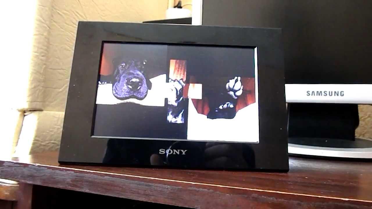 Цифровые фоторамки Ritmix RDF-802, Sony DPF C70 A и Ritmix RDF-701 .