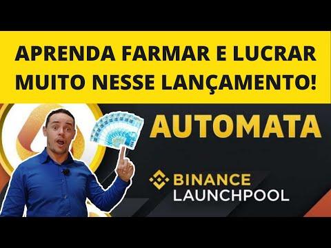 🛑 AUTOMATA (ATA) LUCRE MUITO NESSE LANÇAMENTO NA BINANCE! (Binance Launchpool)