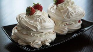 Безе с маскарпоне Европейский десерт Рецепт в домашних условиях